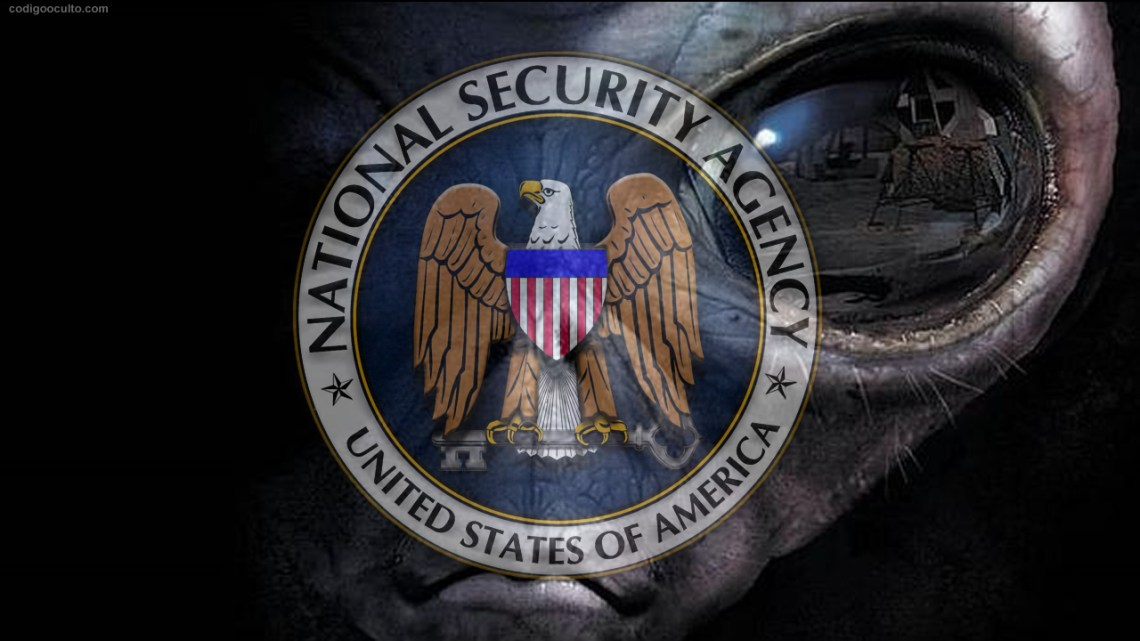 Controversy on the Web: Alien message on the NSA website