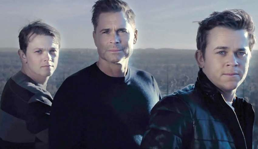 Actor Rob Lowe claims to have seen a Bigfoot during the filming of a new television show