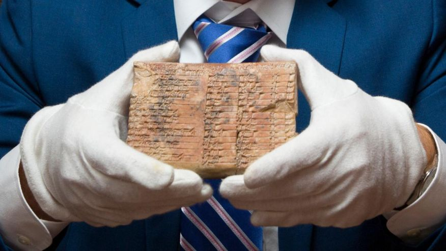 3,700 years old Babylonian tablet rewrites the history of maths