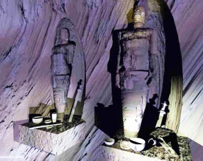 Гигантский подземный город хранит гигантские мумии и другие артефакты с разных концов света.