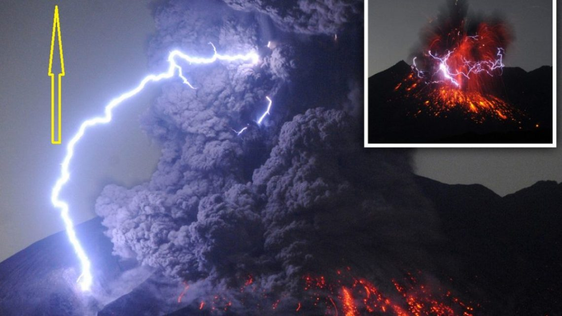 The Reason why there are so many UFO sightings near Volcanic Eruption
