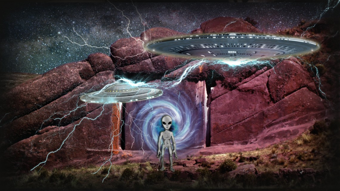 The Stargate of Hayu Marca and it's Connection with the FBI: Proof of Inter-dimensional Travel
