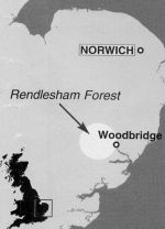 location of Rendlesham Forest incident