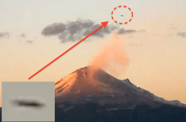 aliens use volcanoes