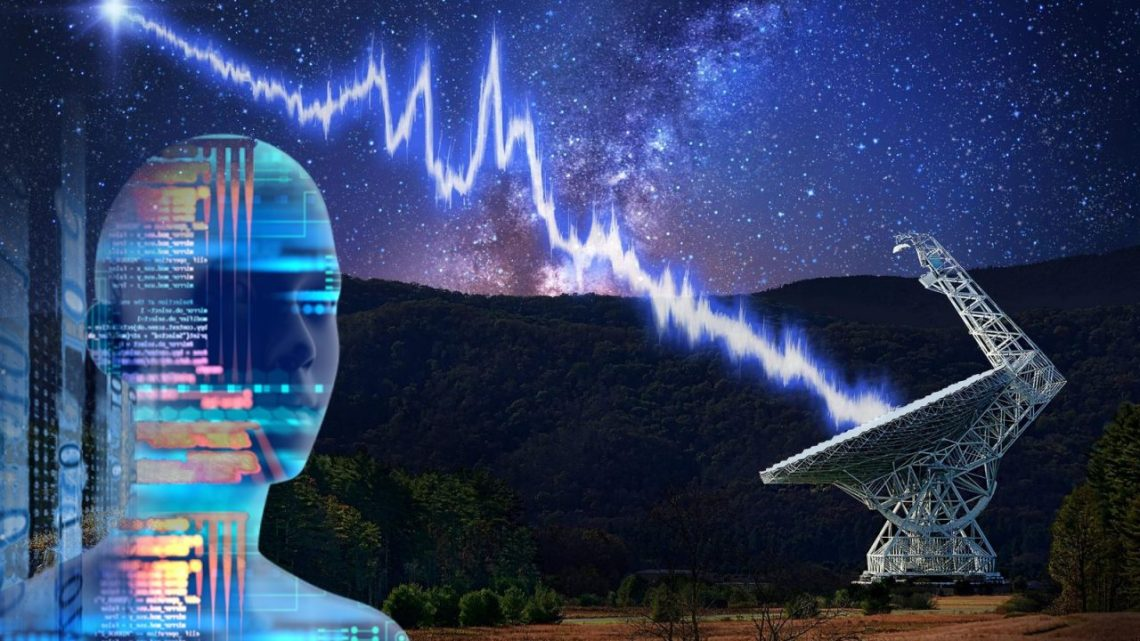 An Artificial Intelligence discovers extraterrestrial signal from deep space