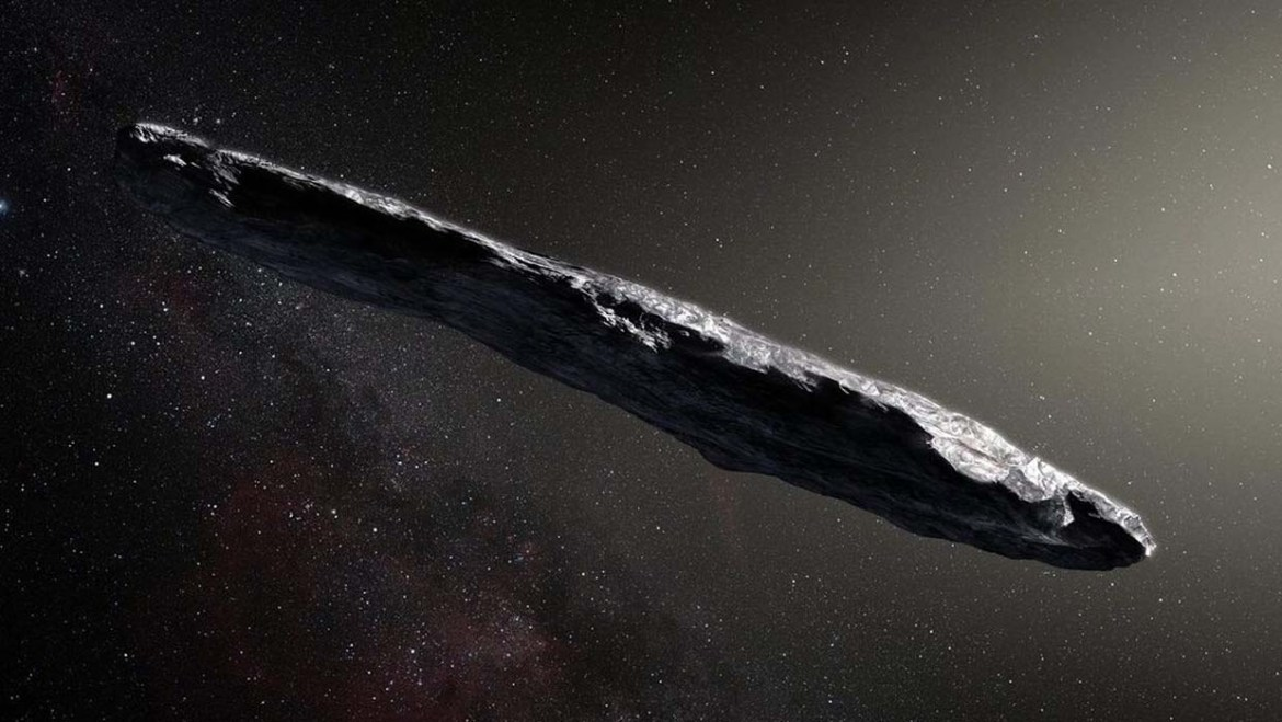 Scientists from Harvard University confirm that the asteroid Oumuamua is an extraterrestrial space probe