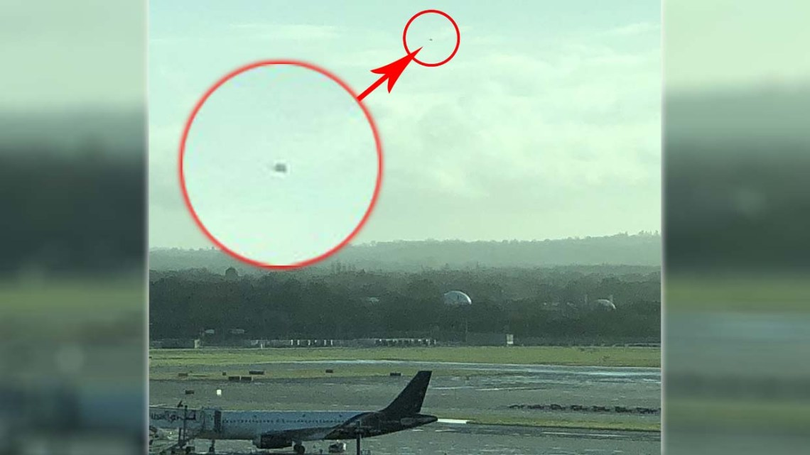 Expert in drones ensures that several UFOs have caused the closure of Gatwick airport