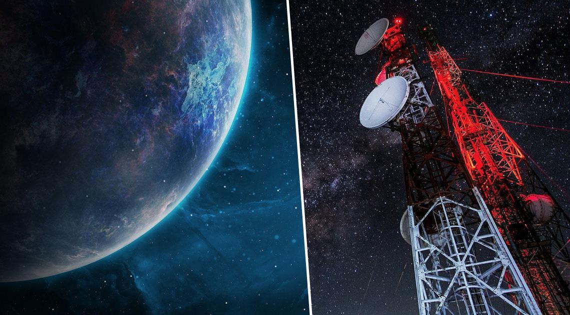The BBC cuts an interview after an astrophysicist assures that the space radio signals are of extraterrestrial origin