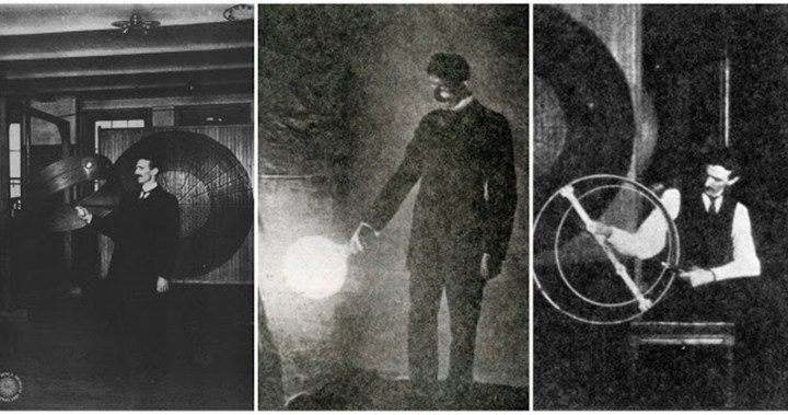 25 Unique and fascinating images of Nikola Tesla
