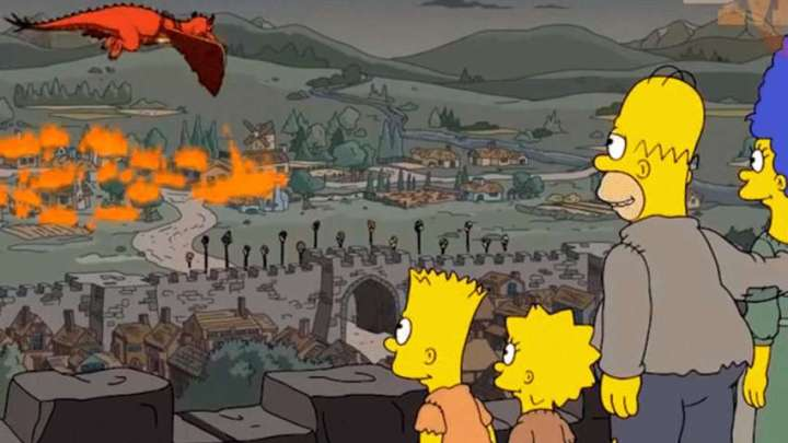 The new prediction fulfilled by The Simpsons: episode 5 of the last season of Game of Thrones