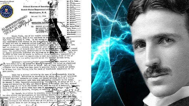 300 secret documents seized after the death of Nikola Tesla