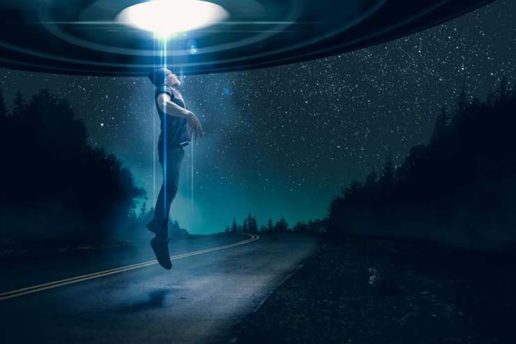 You may be being abducted by aliens and you don't know it
