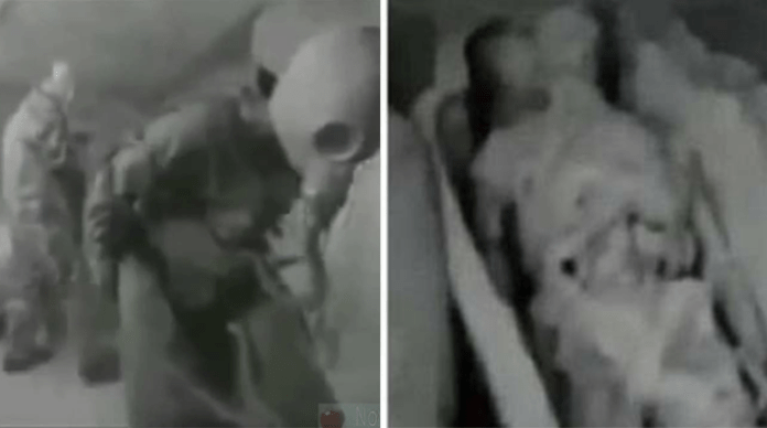 A 13,000 years old Alien Mummy discovered by the KGB in Egypt