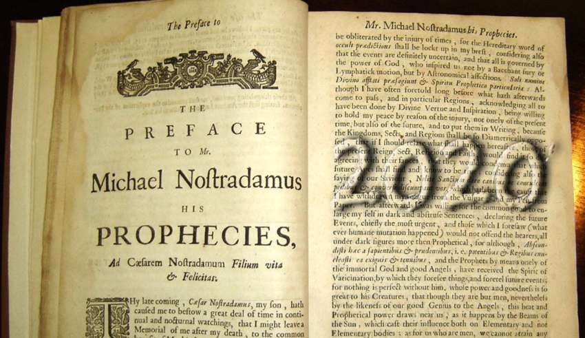 Predictions and Prophecies For 2020 By Nostradamus