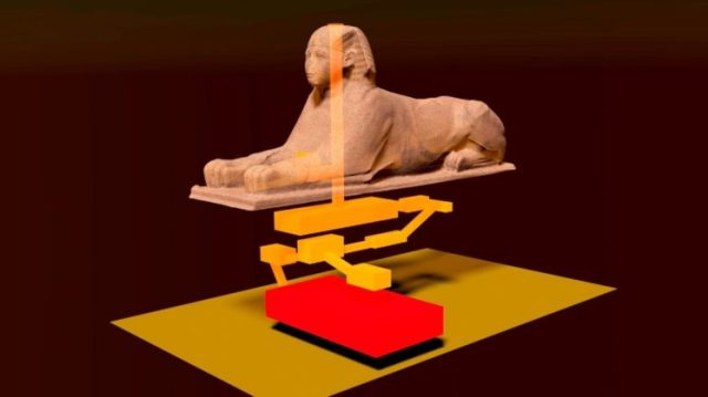 head of the great Sphinx