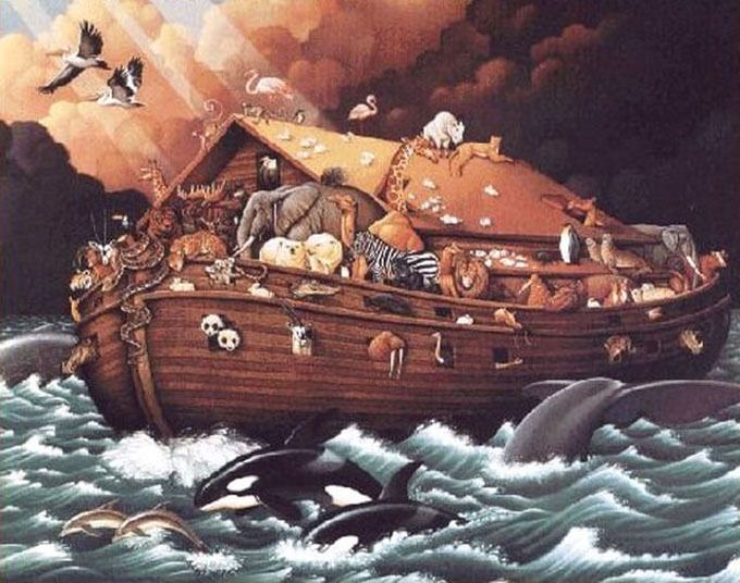 The Evidence of the Universal Flood And it's possible causes