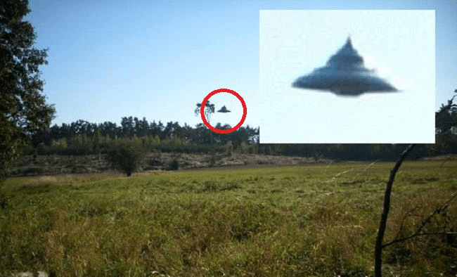 Spinning Top Shaped UFO Filmed In Poland Ufologists Are Sure That The Pictures Are Genuine