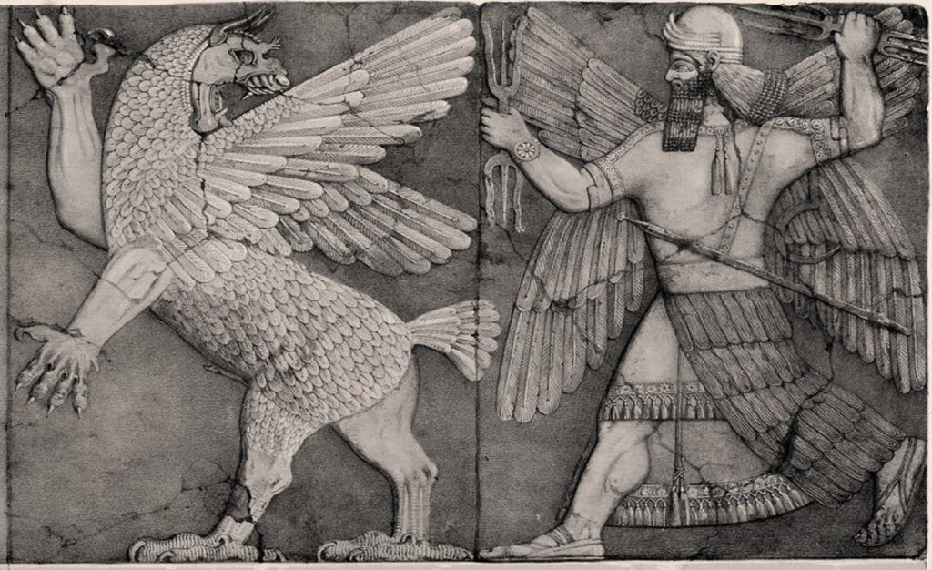 Marduk: The Babylonian god who reigned over the chaos of an Anunnaki war