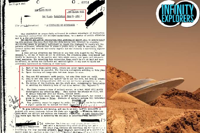 FBI Documents Claims That Aliens And Beings From Other Dimensions Have Visited Earth In Past