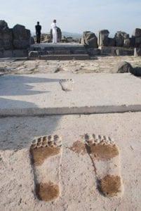 Ain Dara's Giant Footprints