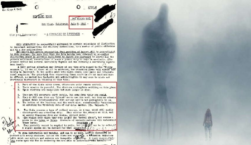 FBI Documents Confirm The Existence Of Giant Human Like Aliens In A Declassified Report From 1947 - Infinity Explorers