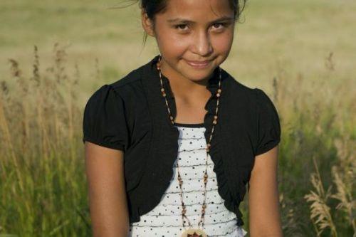 Сантана Янис, ей было всего 12 лет.