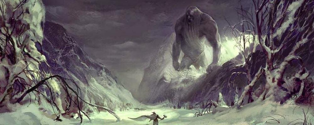 Гигантские существа вероятно населяли нашу планету в далекой древности.