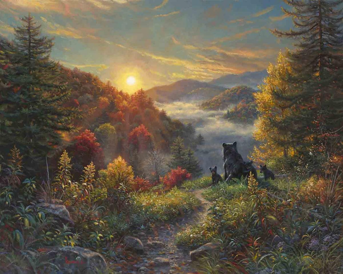 New Day By Mark Keathley Infinity Fine Art