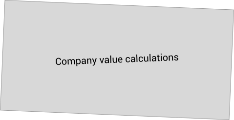 Company value calculations