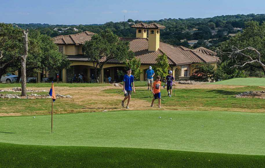 custom golf greens, fun for kids and adults