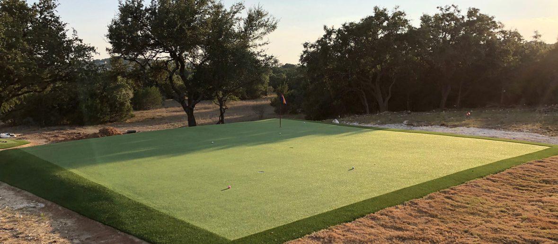 custom golf green designers in san antonio