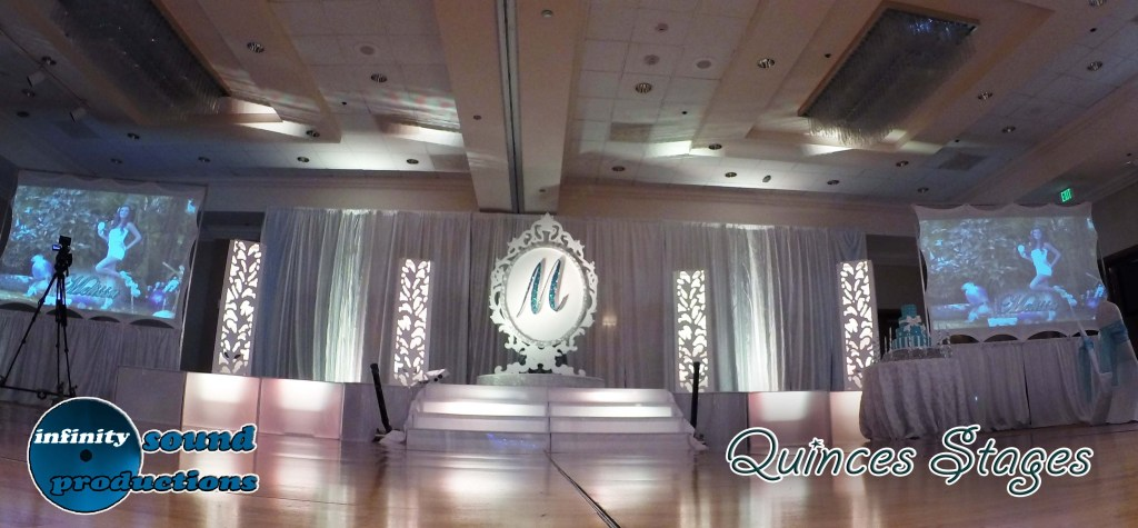 Stage For Quinces, Miami Quinces, Quince Stages, Quinceaneras, Miami Partys , Sweet 16's, 15 Teens, ispdj, fantasy Designers, Fairytale designers, powerparties, Stages, Quinces,