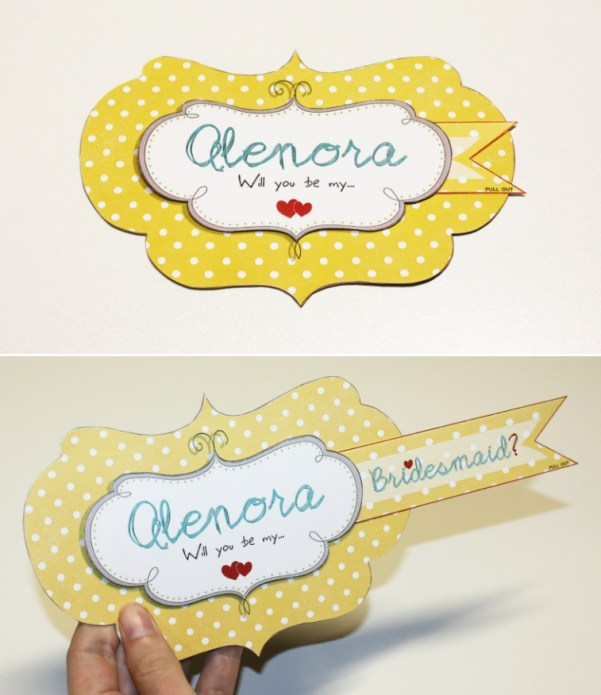 Pull Out Gift Tags