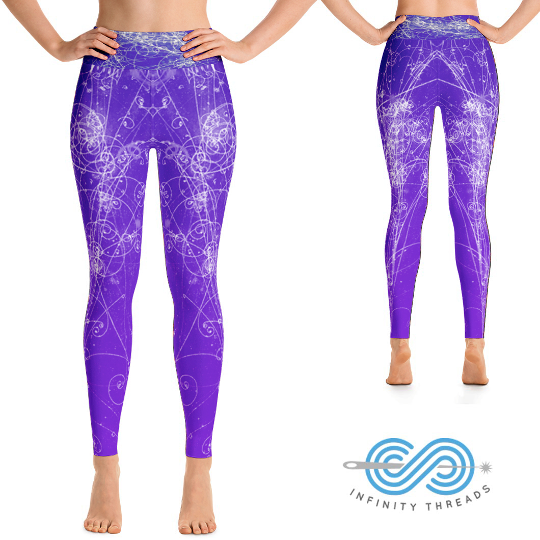 9b97811b3eafb Home/Yoga Leggings/Yoga Leggings Particle Physics edition. ; 