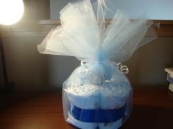 Mini Diaper Cake - $35