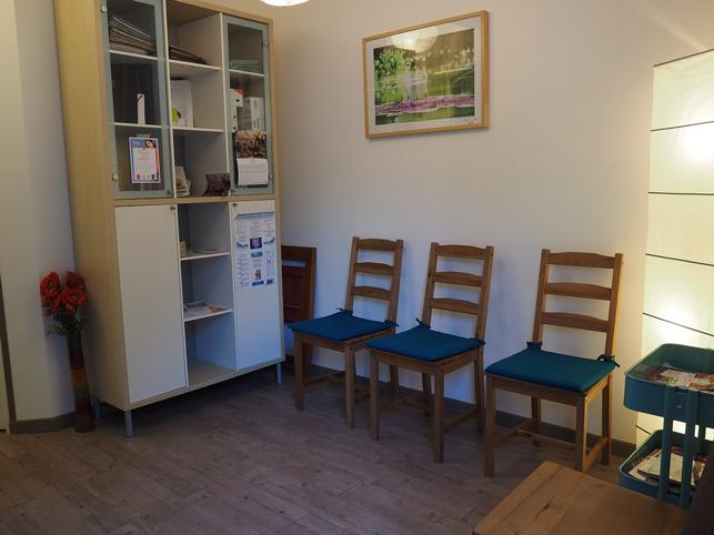 Salle d'attente du cabinet infirmier flover Fouqueux