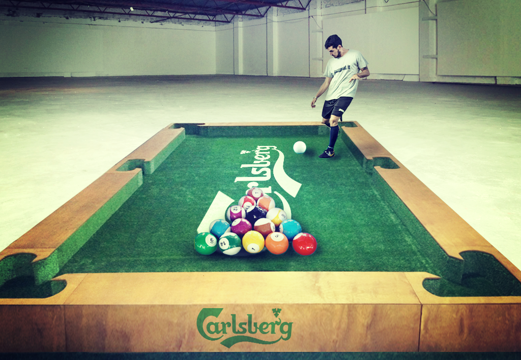 Pool Ball- Carlsberg (2)
