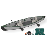 Sea Eagle Travel Canoe 16 Inflatable Canoe Electric Pump
