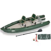 FishSkiff 2 Person Swivel Seat Fishing Boat