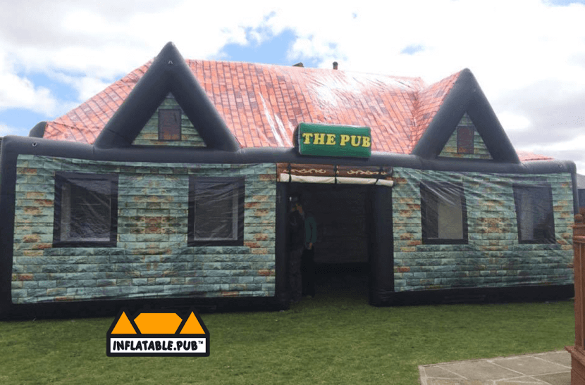 Inflatable Pubs, hire, pop-up pubs, air buildings, USA, purchase, where to buy, blow up pubs, Irish Pub, Irish bars, english bars, old style travens, bouncy, castle, partytime rentals, cheap, affordable, reliable, obstacle course, slide, marquee, fun, party, parties, Ireland