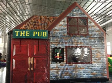Sean Leahy, inflatable pub, pop up pubs (5)