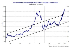 Global Food Prices 2005-2011