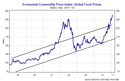 Global Food Prices 2005-2011