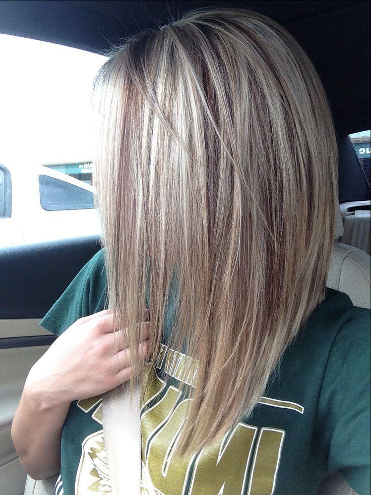 Long Inverted Bob Haircut Back