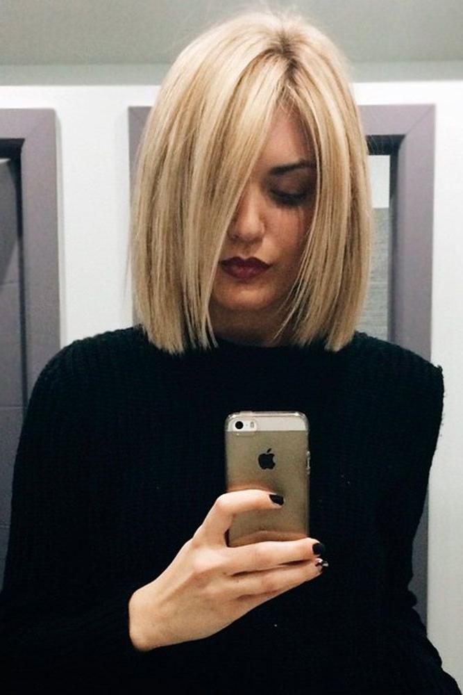 2019 Latest Blonde Bob Hairstyles
