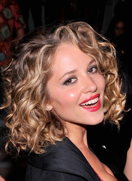 15 Collection Of Curly Long Bob Hairstyles