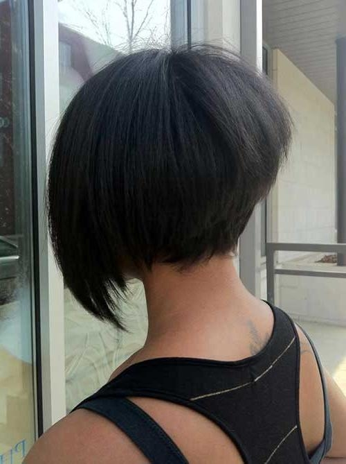 15 Ideas Of Stacked Bob Hairstyles Back View
