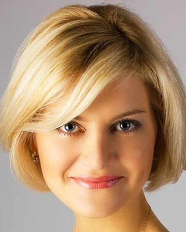 Image Result For Short Hairstyles For Large Foreheads