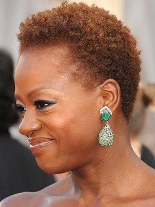 Short Natural Hairstyles For Round Faces Black Hair Hairsjdi Org