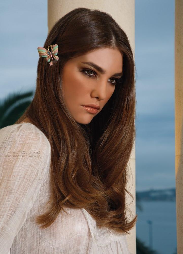 2019 Popular Blunt Cut Long Hairstyles